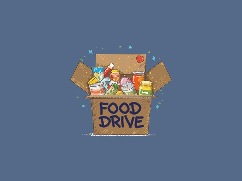 Holiday Food Drive $5.00 Off Any Service